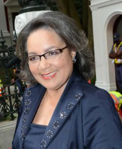 Picture of Cape Town mayor Patrica de Lille