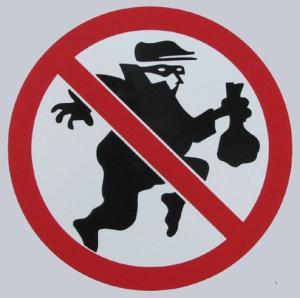 Burglar cartoon