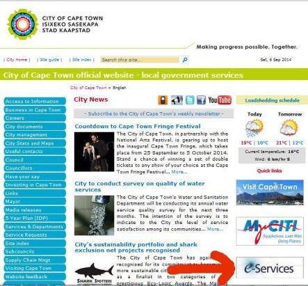 City council website
