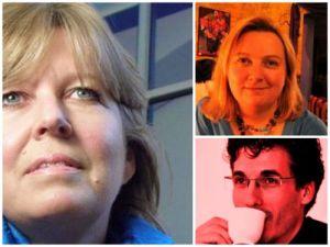 New and outgoing WRRA chairs: Kristina Davidson, karen Gird, Darron Araujo