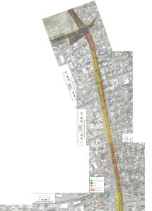 Road scheme map_East