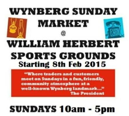 Wynberg Sunday Market poster