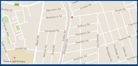 Map c/o Brampton and South