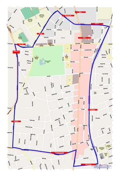 Wynberg Sector 1 Neighbourhood Watch boundaries