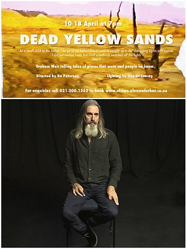 Dead yellow sands poster, pic of Graham Weir