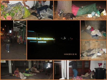 Collage of pictures from the joint vagrant operation