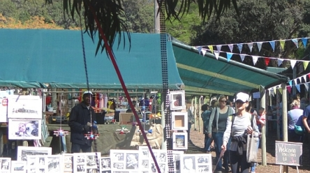 Stall at Tokai Forest market