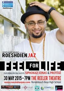 Roeshdin Jaz event poster