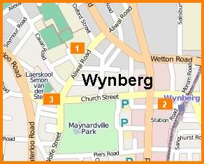 Map of business burglaries