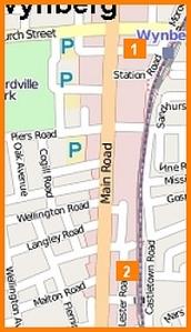 Map of carjackings