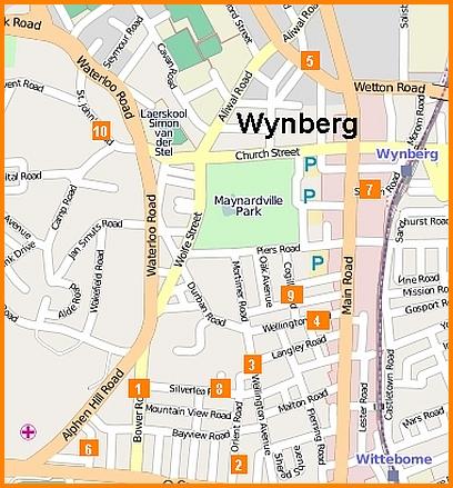Map of house burglaries