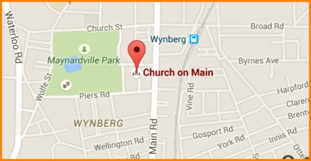 Map of Church on Main