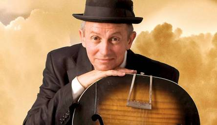 David Kramer with instrument