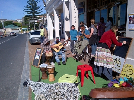 Parking day in Kalk bay