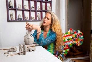 Tania Babb at work