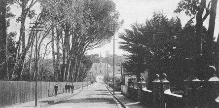 Old picture of Church Street Wynberg
