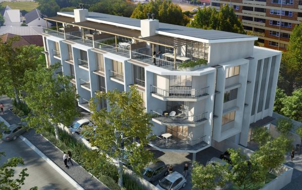 Apartment Building Association development: 5-storey-high apartment block on wellington | wynberg