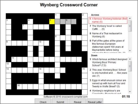 Wynberg crossword screen grab