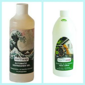 Earthsap softener and dishwashing gel